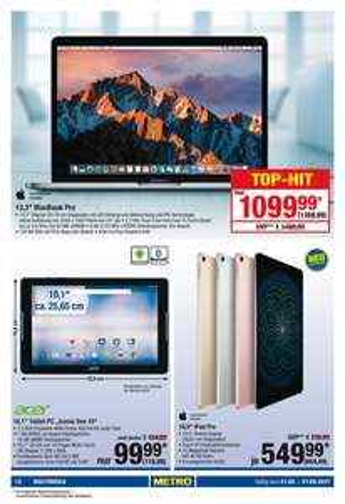 "METRO - Macbook Pro 13"" 128GB SSD"
