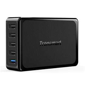 @geekbuying: Tronsmart Quick Charge 3.0 USB Ladegerät (1 Quick Charge Port und 4 VoltIQ Ports mit gesamt 54W)