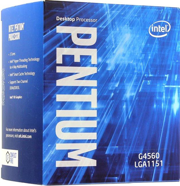INTEL Pentium G4560 3,50GHz LGA1151 Boxed CPU für 54,99€ + 4,99€ Versand, NICHT AUF LAGER  Lieferzeit 3-4 Wochen