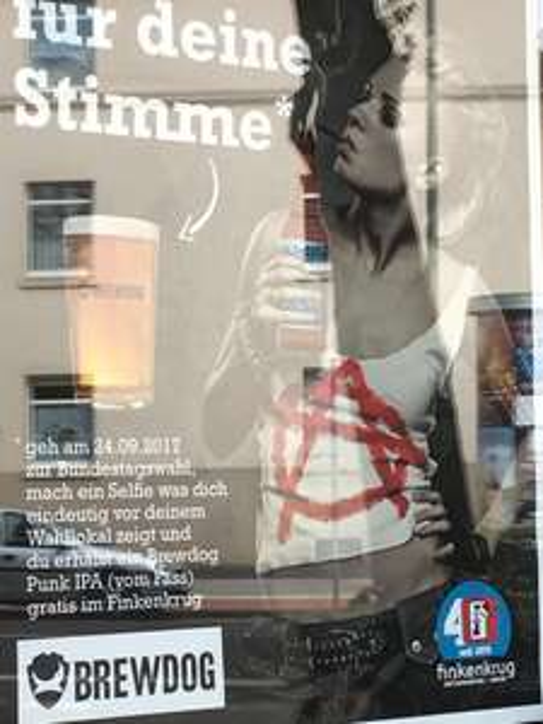 Gratis Bier fürs Wählengehen bei der Bundestagswahl [Lokal Duisburg]