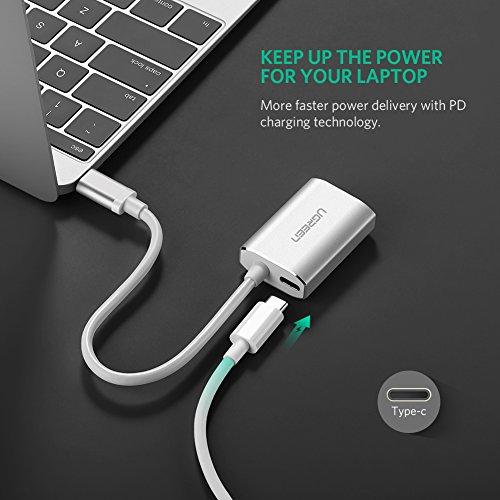 USB-C auf HDMI-Adapter mit Stromversorgung für MacBook Pro, Dell XPS 15, MateBook uvm. von Ugreen