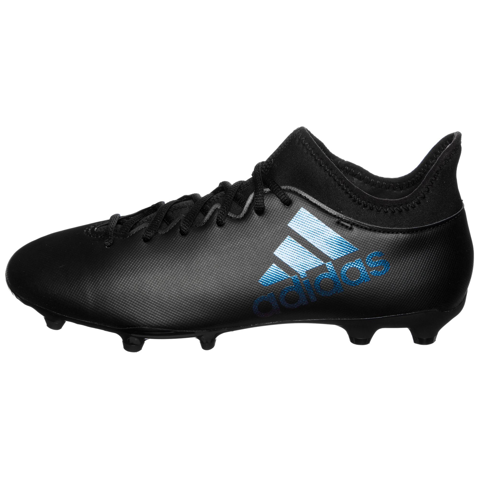 adidas X 17.3 FG Fußballschuh schwarz für 43,16€