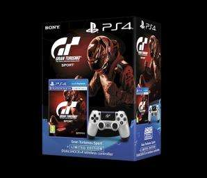 Gran Turismo Sport (PS4) inkl. Limited Edition GT Sport DualShock 4 Wireless Controller für 81,92€ (Grainger Games UK + Base.com)