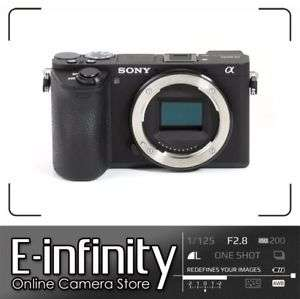 BRANDNEU Sony Alpha a6500 Mirrorless Digital Camera (Body Only)
