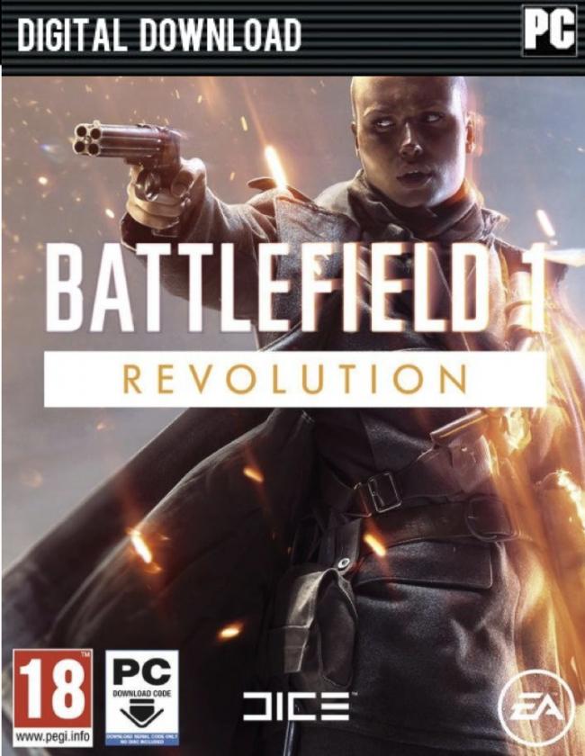 Battlefield 1: Revolution Edition (Game inkl. Premium-Pass) (Origin) für 32,48€ (CDKeys)
