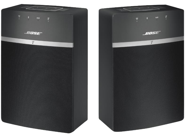 BOSE Soundtouch 10X2 Kit Wireless Starter, Multiroom Lautsprecher, Schwarz für 299,-€ versandkostenfrei [Saturn LNS]