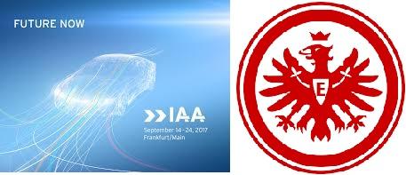Eintracht Frankfurt - Werder Bremen Sitzplatz 12 € Normalpreis 43 € auf der IAA