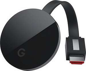 Quelle: Google Chromecast Ultra Streaming Media Player 59,99€ (PVG 78,87€)