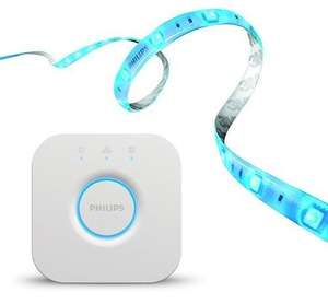 Philips Hue LightStrip+ 2m Basis-Set + Hue Bridge für 89,95€ [Amazon]