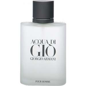 Giorgio Armani Acqua di Giò Homme Eau de Toilette 100ml für 48€ und 50ml für 36€ bei parfuemerie-pieper incl.Versand