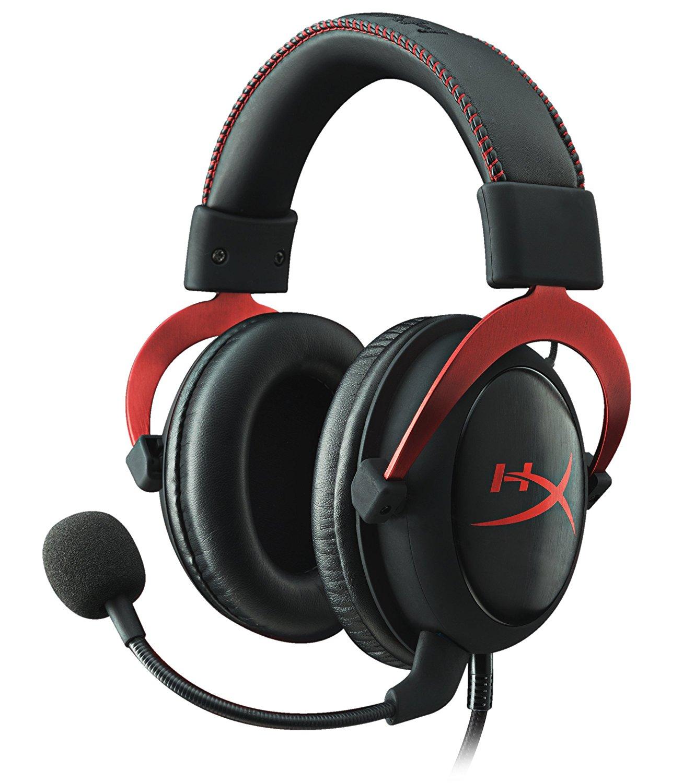 HyperX Cloud II Gaming Headset für PC/PS4/Mac/Mobile rot (Zertifiziert und Generalüberholt)-Amazon Prime