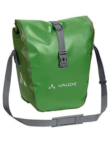 [Amazon] Vaude Aqua Front wasserdichte Vorderradtaschen (Paar insg. 28 Liter) - Farbe Parrot Green - statt 90,83€