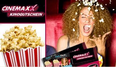 5 Cinemaxx Gutscheine inklusive Zuschläge (leider kein 3D) bei Dailydeal dank Gutscheincode für 24,90 zu haben!