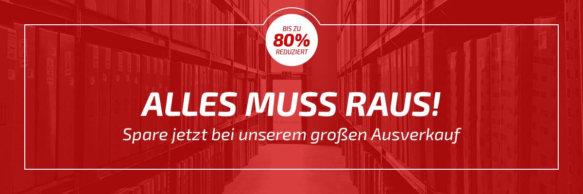 Lagerräumung: Bis zu 80% auf Marken wie Endura, Schwalbe & Co auf fahrrad.de
