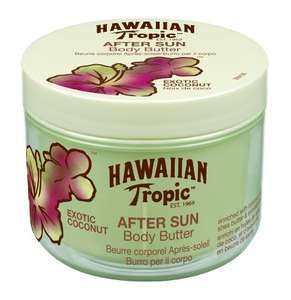 SammelDeal Hawaiian Beauty-Produkte mit zusätzlichem Rabatt ab 3,29€ [Amazon Tagesangebot] z.B. Hawaiian Tropic After Sun Body Butter Coconut, 200 ml‌ für 3,29€ statt 9,99€