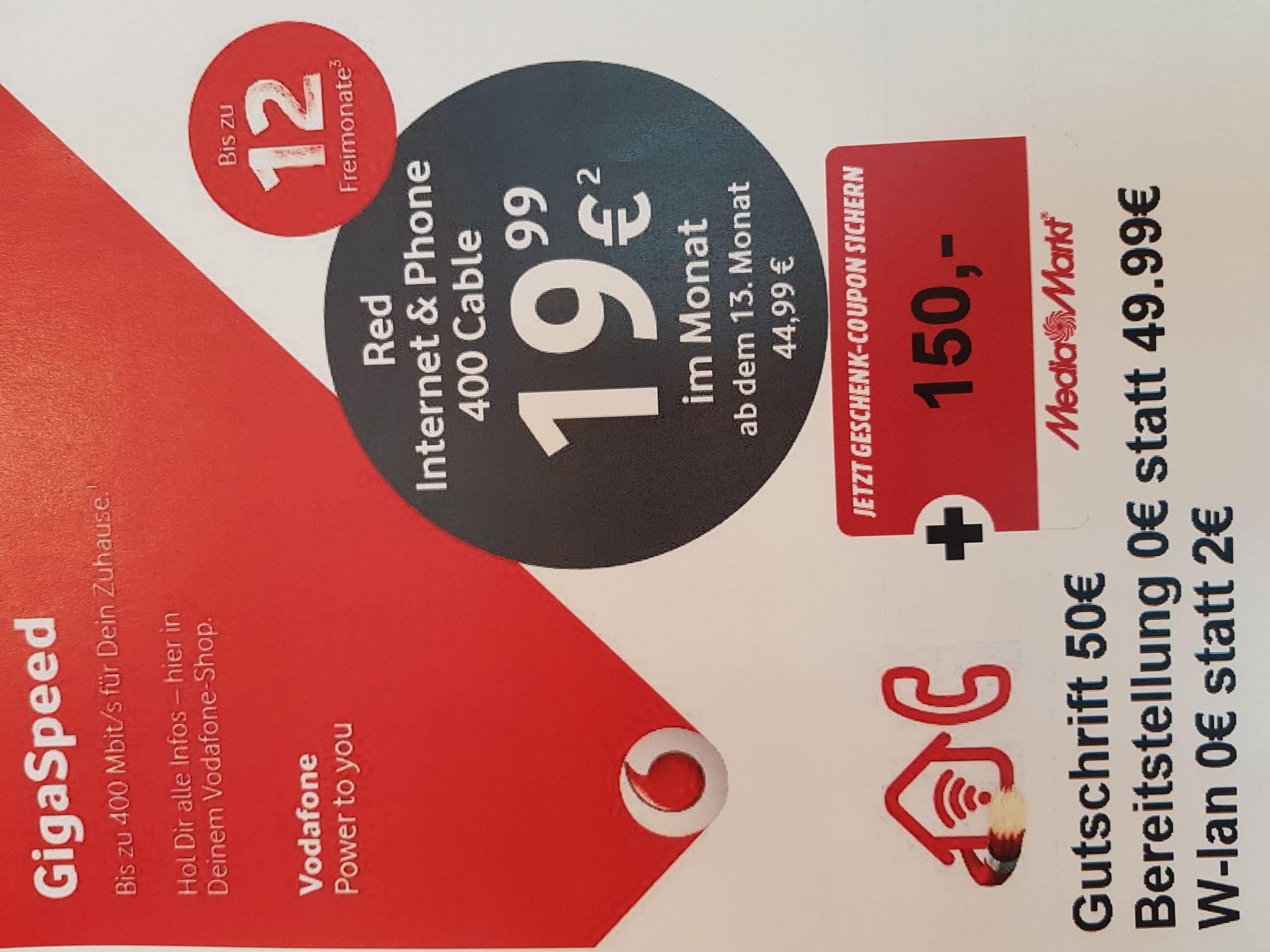 Vodafone Kabel Internet und Phone in Kiel