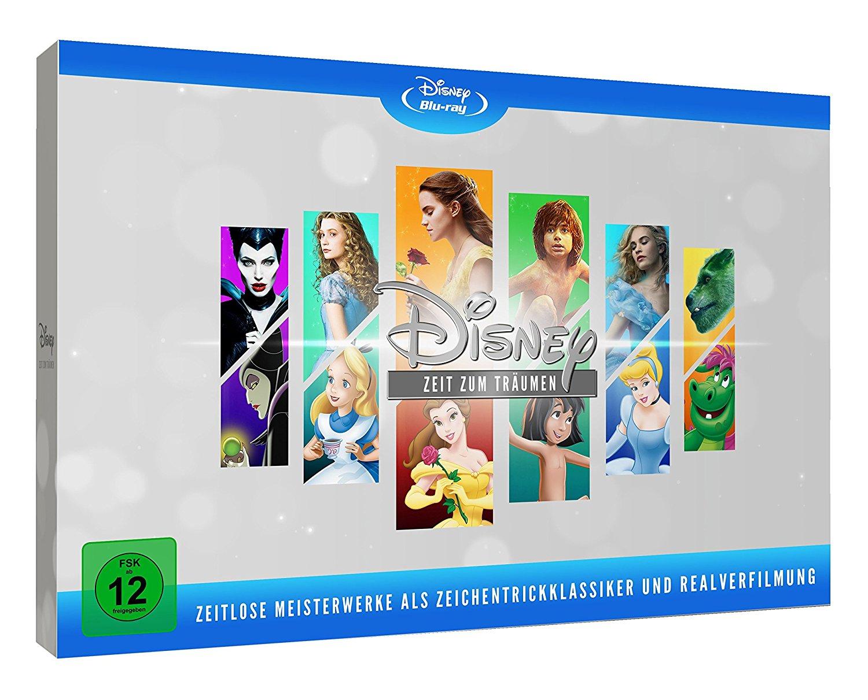 Disneys zeitlose Meisterwerke (Limited Edition) (Bluray) für 66,99€ [Vorbestellung] [Bücher.de]