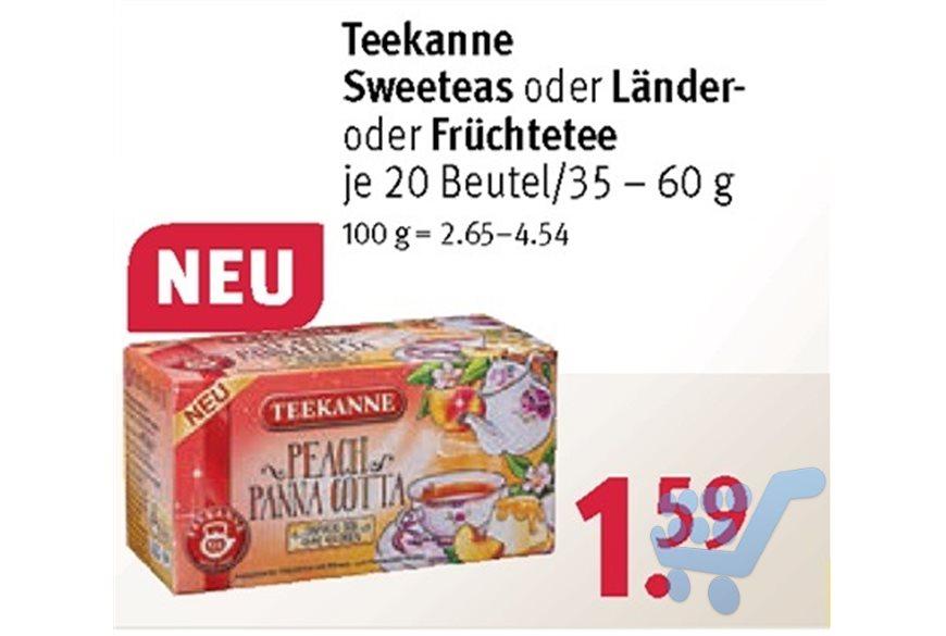 Teekanne Harmonie Körper & Seele bei Rossmann mit Coupon für 0,99€