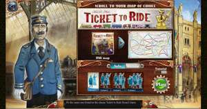 Ticket to Ride (Steam) kostenlos [Asmodee]