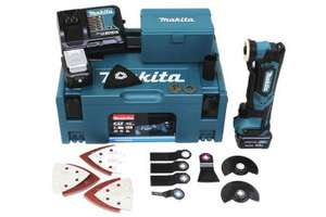 Makita Akku-Multifunktions-Werkzeug 10,8V mit 2 Akkus, Ladegerät, Makpac für unter 200€
