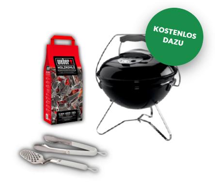 """12 Ausgaben """"Bild am Sonntag"""" für 20,35 + Weber Grill Smokey Joe Premium inkl. Grillbesteck und Holzkohle"""