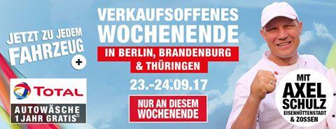 [Renault König] Freibier und Grillwurst am 23. und 24.09.2017, teilweise mit Axel Schulz