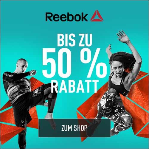 Midseason Sale bei Reebok mit bis zu 50% Rabatt + 20% on top *Update 2*