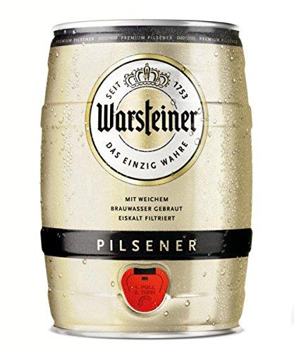 Warsteiner Premium Pilsener 5 Liter für 7,99€ & Becks Pils 5 Liter für 8,99€ [Amazon Tagesangebot]