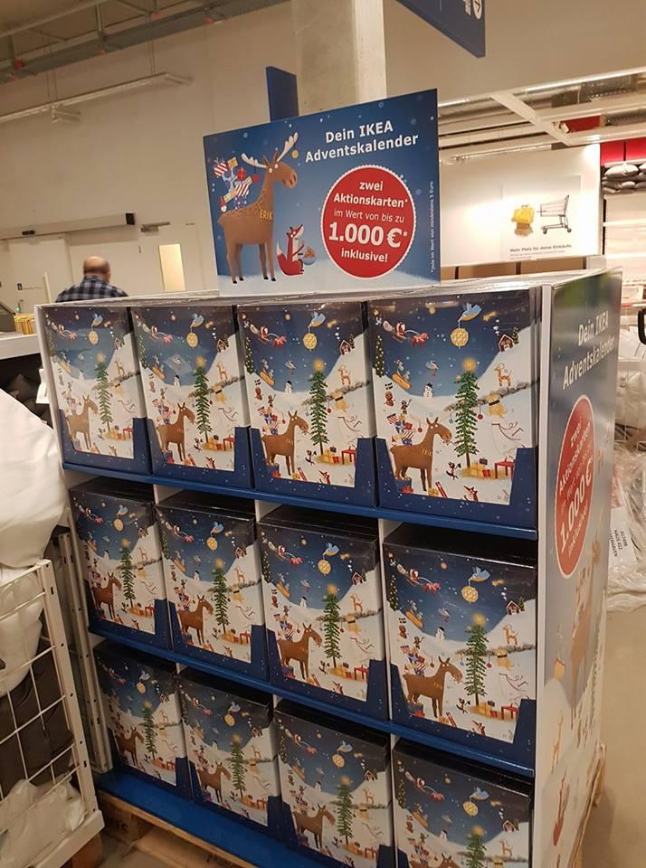 Der Ikea Adventskalender 2017 ist da! - inkl. 2 Aktionskarten im Wert von mind. 10€ + 2 Gratisartikel
