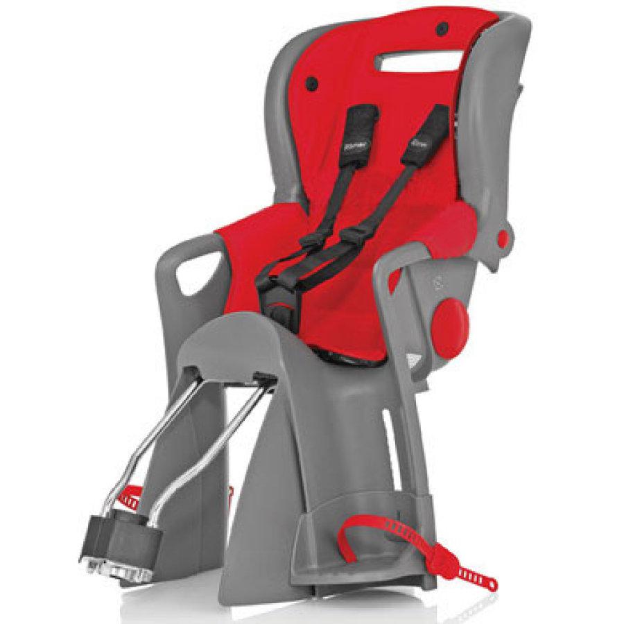 Britax Römer Fahrradsitz Jockey Comfort Lisa (rot) - geeignet für Kinder zwischen 9 und 22kg
