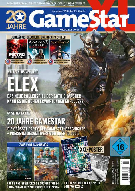 Gamestar XL: Jubiläumsausgabe mit 3 Vollversionen (Metro 2033 + Assassin's Creed: Revelations + Spellforce 2) für 6,99€