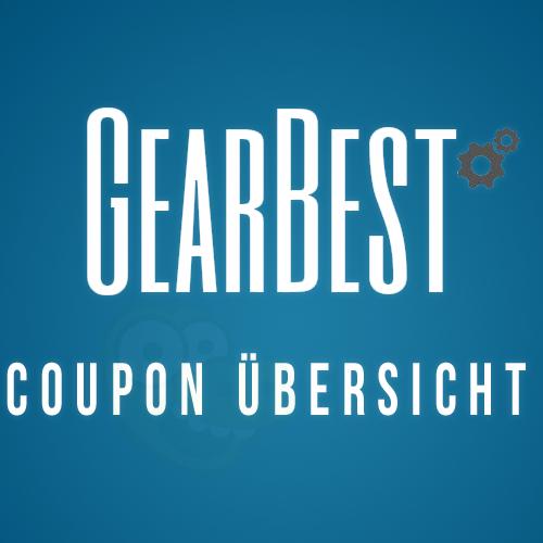 Gearbest Coupon-Übersicht bis 26.09. *Update*