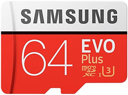 Samsung EVO Plus (2017) MicroSDXC 64 GB UHS-I U3 @ amazon.de Prime