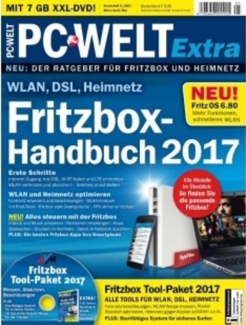 PC-WELT Sonderheft Fritzbox Handbuch 2017 (ePaper) gratis am Sonntag ab 12 Uhr