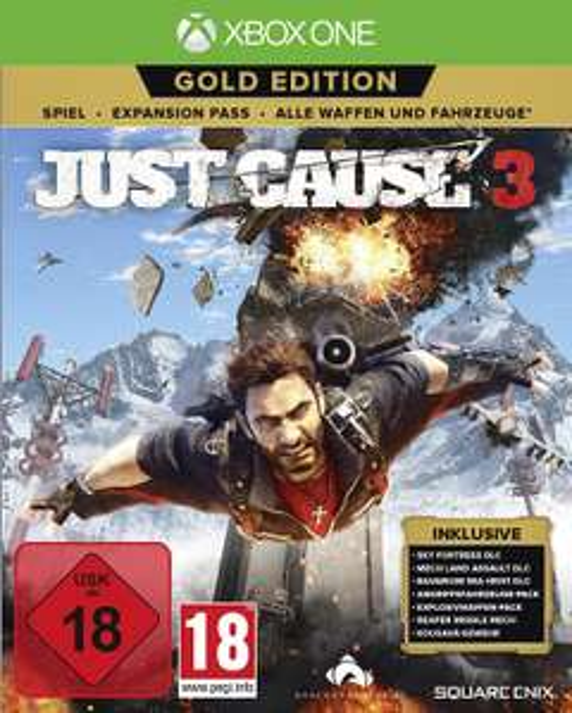Just Cause 3 Gold Edition (PS4 & Xbox One) für je 24,99€ (Media Markt)