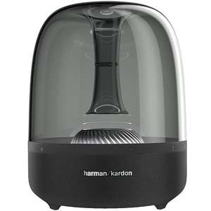 Harman Kardon Lautsprecher Kardon Aura 2 schwarz (Bluetooth, W-LAN, Apple AirPlay) schwarz [T-Online Shop]