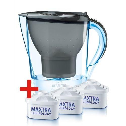 REWE Jubiläumspreis Brita Marella Wasserkanne 2,4L incl. 3x Maxtra Tischwasserfilter