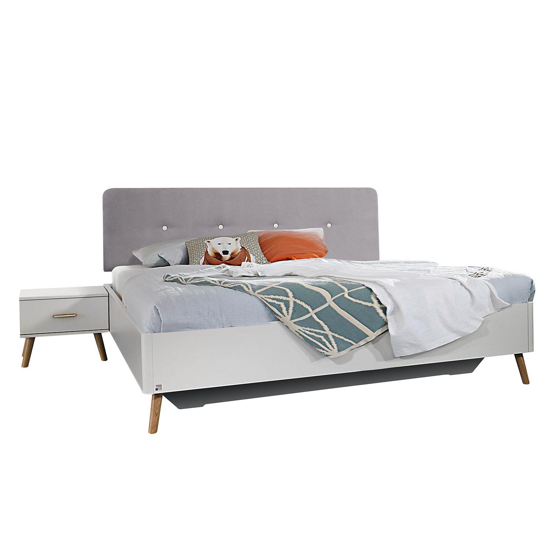 Bett 180x200cm im Skandi Stil - Made in Germany - 100 € günstiger