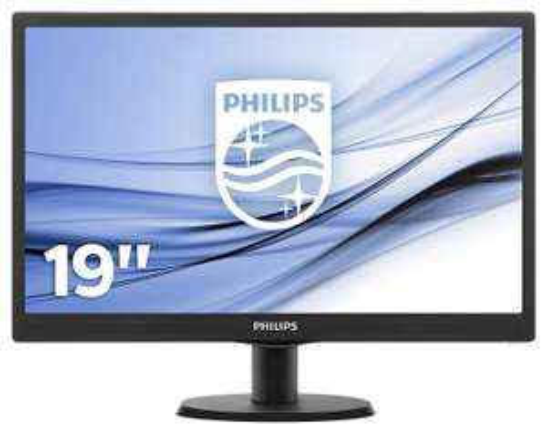 Philips 47 cm (18,5 Zoll) Monitor (VGA, 1366 x 768, 60 Hz) Zustand Gut [Amazon Student Warehouse Deals, ohne für 37,95€]