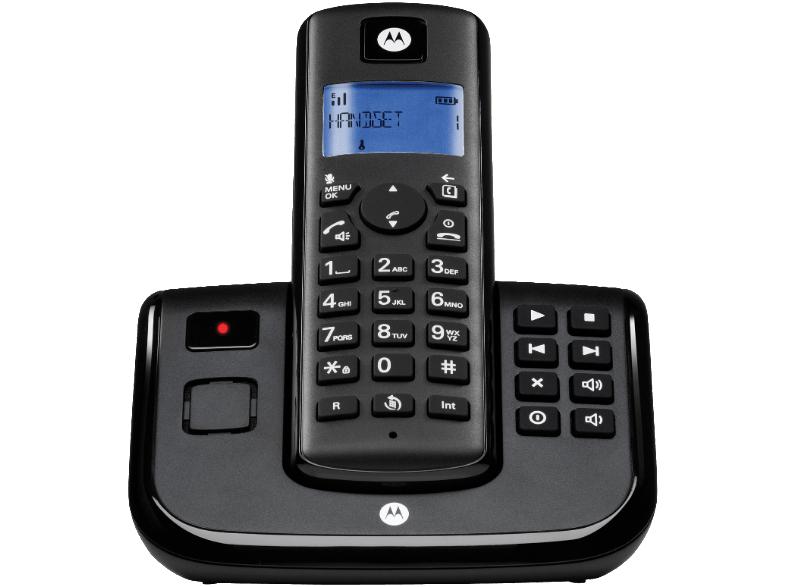Motorola T 211 schnurloses Analog-Telefon mit Anrufbeantworter für 10€ inkl. Versand [Mediamarkt]