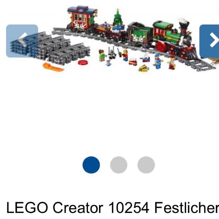 LEGO- Festlicher Weihnachtszug 10254