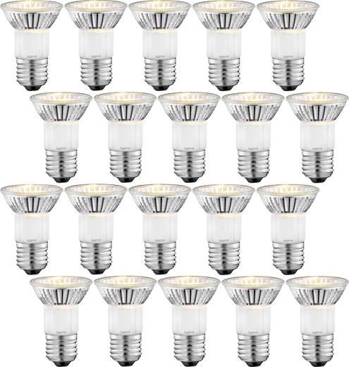 [Conrad/ Flohmarkt ]Halogen 72 mm Sygonix 230 V E27 35 W Warm-Weiß Reflektor dimmbar 20 St fur 49 cents(statt 28 euros)! oder 400 stuck fur nur 9,8 euro bei fillial abholung PVG .