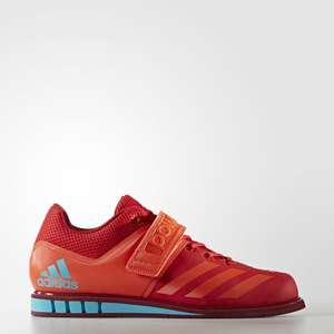 Adidas Powerlift 3.1 Powerlift Gewichtheberschuhe (Gr. 40-46) Farbe: Scarlet/Energy /Collegiate Burgundy