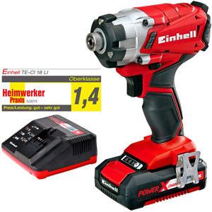 Einhell TE-CI 18 Li Kit Power-X-Change System Akku-Schlagschrauber [eBay] für 59,99€