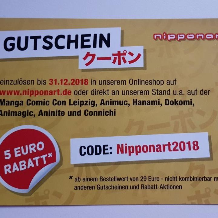 5€ Gutschein nipponart.de (29€ MBW)
