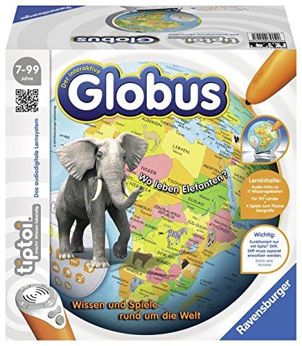 Ravensburger 00558 - tiptoi Interaktiver Globus für  10.39€ bei Amazon