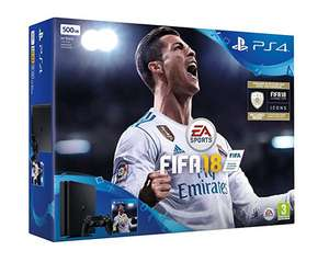 PlayStation 4 Slim + FIFA 18 für 230€ (Amazon.co.uk)