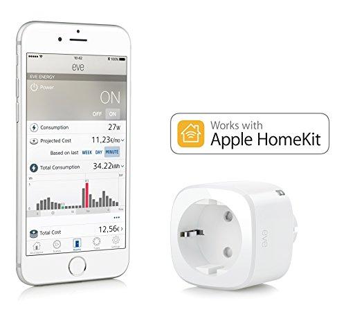 [Amazon.de] Tagesangebot: Elgato Eve Energy - Kabelloser Stromsensor & Schalter mit Apple HomeKit-Unterstützung