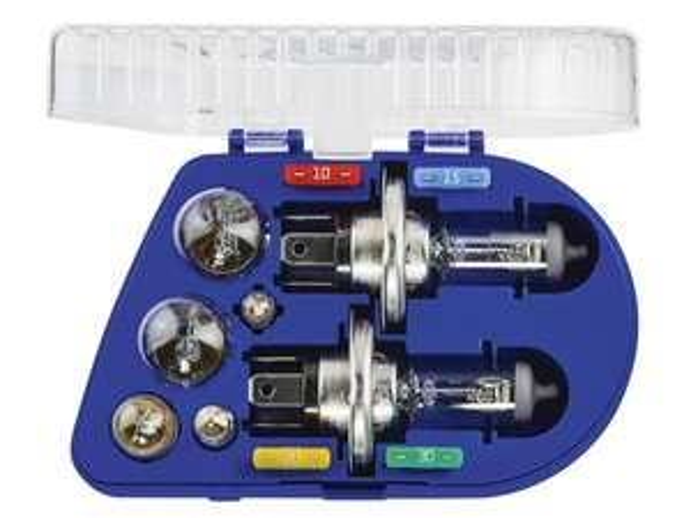 [LIDL] Ultimate Speed H4 oder H7 Kfz-Ersatzlampenbox, 11-teilig