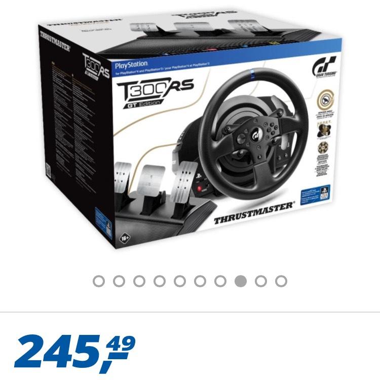 Thrustmaster T300 RS GT Edition für 249.79 bei Real mit Versand